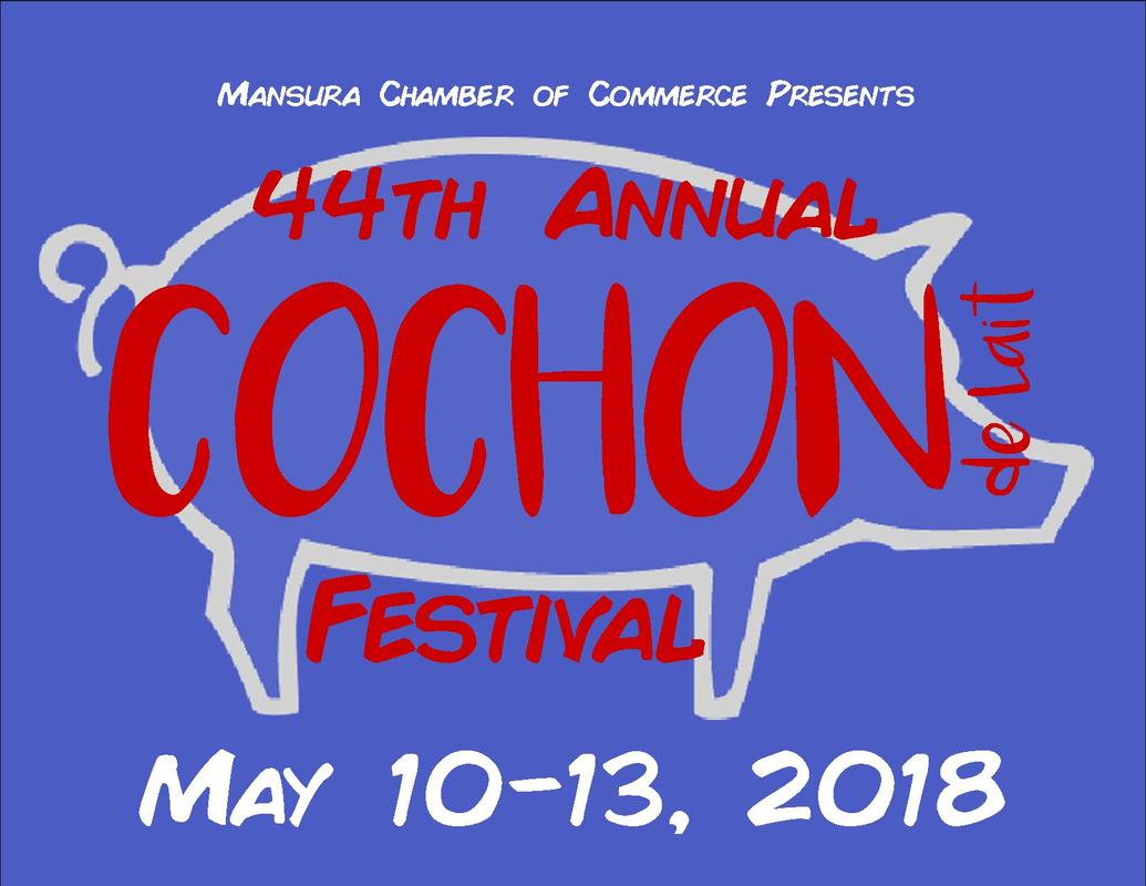 44th Annual Cochon De Lait Festival Mansura, Louisiana May 10, 11, 12 & 13,  2018 - Home